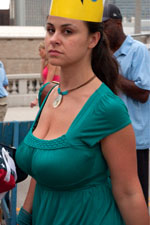 Huge Natural Tits Candid